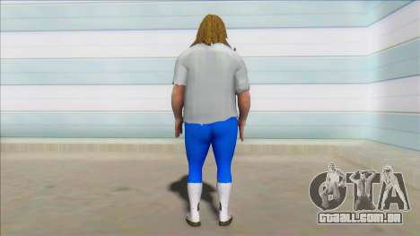 WWF Attitude Era Skin (mankind) para GTA San Andreas