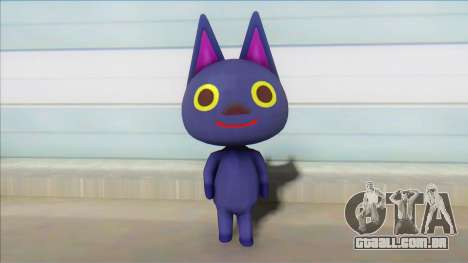Animal Crossing Nude Cat Skin V18 para GTA San Andreas