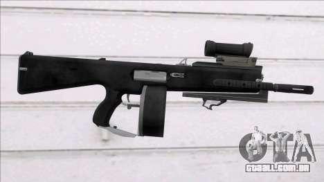 The Division Showstopper Custom Sight para GTA San Andreas