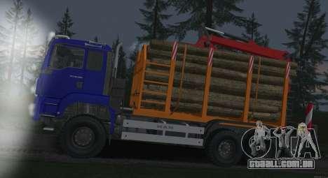 MAN TGS 18.480 LPcars Sortiment para GTA San Andreas