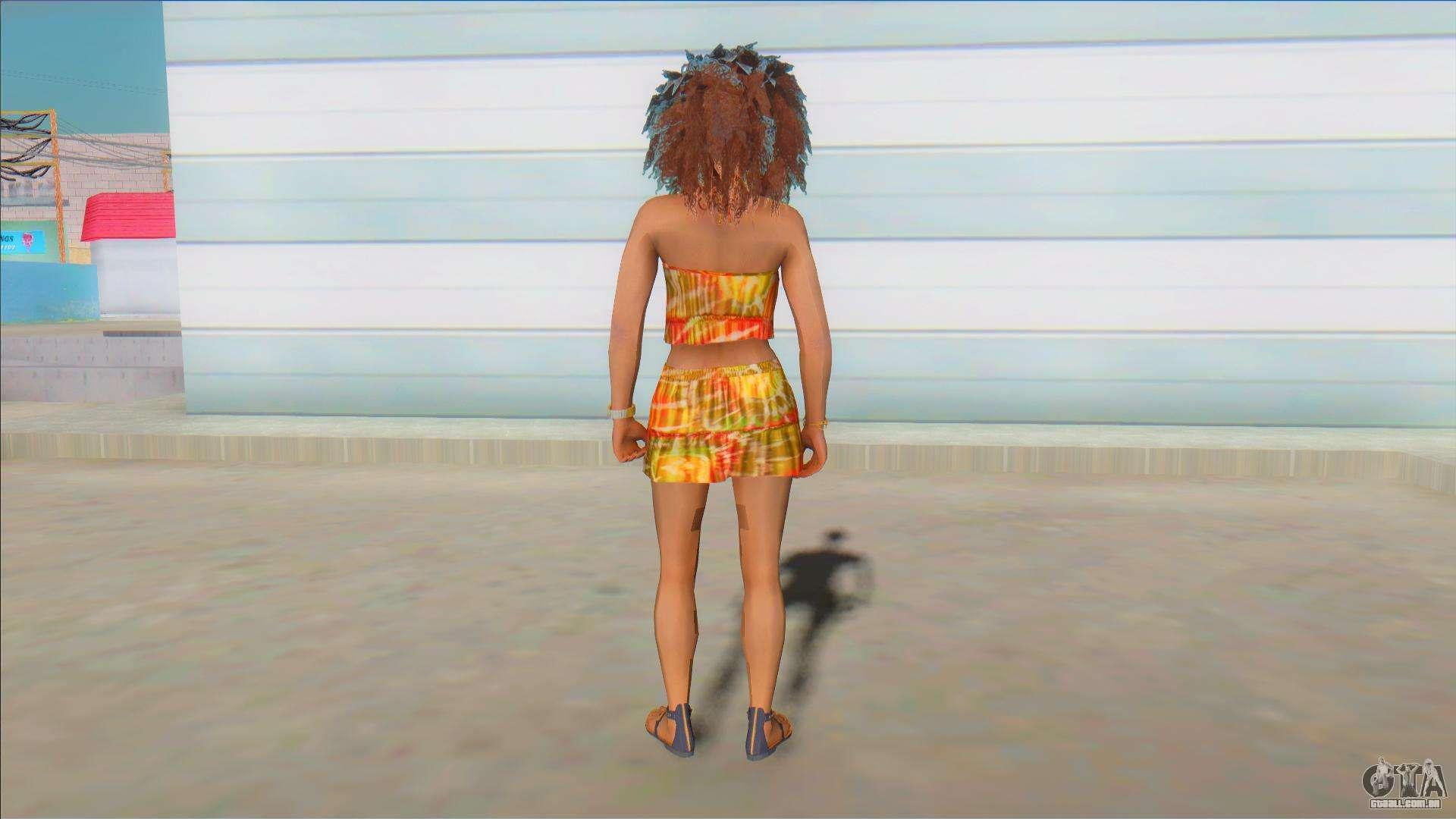 Juliet Starling (Lollipop Chainsaw) Black Jumper para GTA