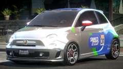 Fiat Abarth Drift L3 para GTA 4
