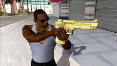 Desert Eagle Blue Estate The Game V1 para GTA San Andreas
