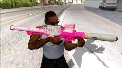 Hawk & Little Homing Launcher Pink para GTA San Andreas