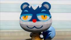 Animal Crossing Tasha Skin Mod para GTA San Andreas