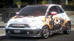 Fiat Abarth Drift L4 para GTA 4