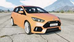 Ford Focus RS (DYB) Unmarked Police para GTA 5