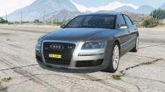 Audi A8 L W12 quattro (D3) Onopvallend Politie para GTA 5