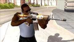 M4A1 Assault Rifle Skin 3 para GTA San Andreas