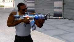 M4A1 Assault Rifle Skin 5 para GTA San Andreas