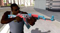 CSGO AK-47 Point Disarray para GTA San Andreas