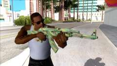 CSGO AK-47 Jungle Spray para GTA San Andreas