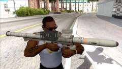 Hawk & Little Homing Launcher Platinum para GTA San Andreas