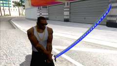 Blue Genji Katana para GTA San Andreas