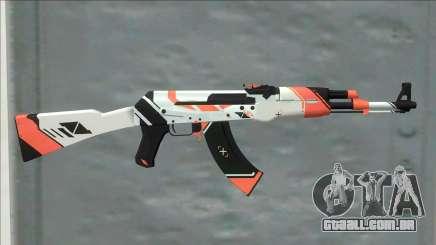 CSGO AK-47 Asiimov para GTA San Andreas