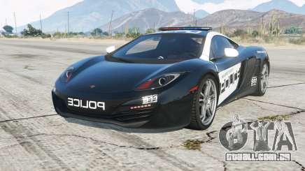 McLaren MP4-12C Hot Pursuit Policᶒ para GTA 5