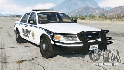Ford Crown Victoria Sheriff para GTA 5