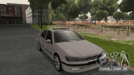 PEUGEOT 406 No Plates para GTA San Andreas