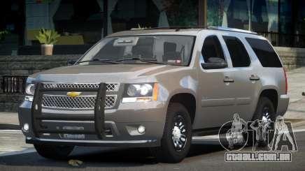 Chevrolet Tahoe GMT900 2007 FIB para GTA 4