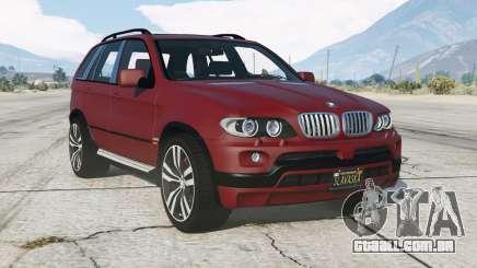 BMW X5 4.8is (E53) 200ⴝ para GTA 5