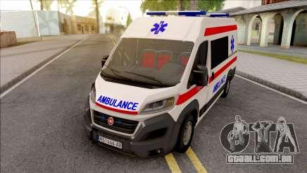 Fiat Ducato 2020 Serbian Ambulance para GTA San Andreas