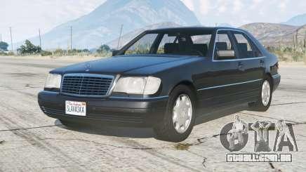Mercedes-Benz S 600 (W140) 1993 para GTA 5