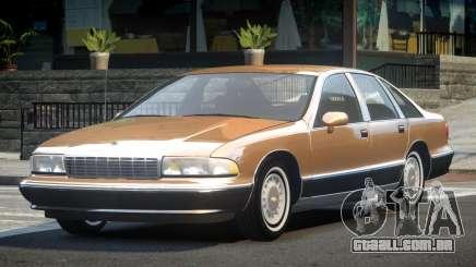 1993 Chevrolet Caprice R1 para GTA 4