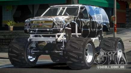 Vapid Liberator Custom L7 para GTA 4