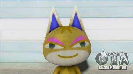 Animal Crossing Nude Cat Skin V17 para GTA San Andreas