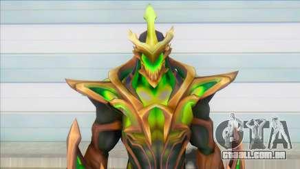 Galaxy Slayer Zed Emerald para GTA San Andreas