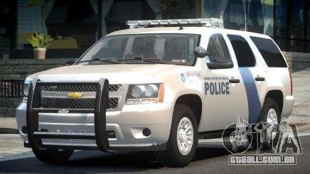 Chevrolet Tahoe GMT900 2007 Homeland Security para GTA 4