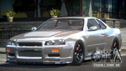 Nissan Skyline R34 BS Drift para GTA 4