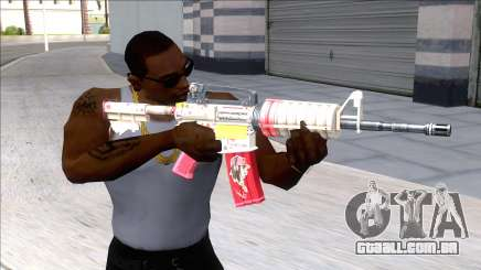 M4A1 Assault Rifle Skin 4 para GTA San Andreas