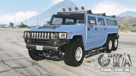 6ᶍ6 Hummer H2 para GTA 5