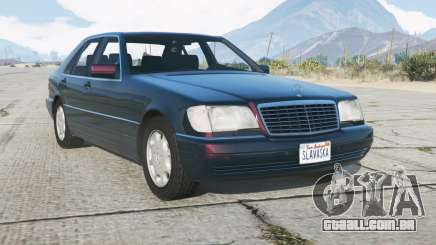 Mercedes-Benz S 600 (W140) 199ろ para GTA 5