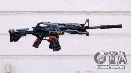 M4A1 Hero para GTA San Andreas