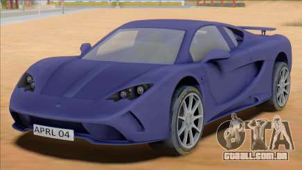 Vencer Sarthe Supercar para GTA San Andreas
