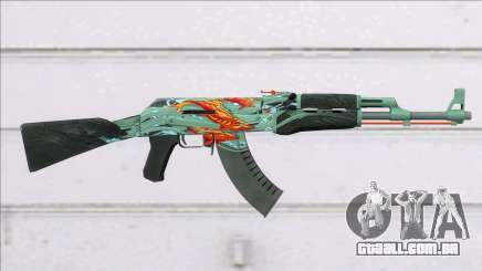 CSGO AK-47 Aquamarine Revenge para GTA San Andreas