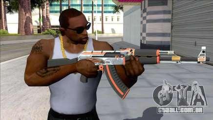 CSGO AK-47 Carbon Edition para GTA San Andreas