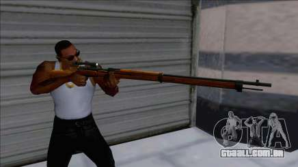 Rising Storm 1 Arisaka Type-38 Scope para GTA San Andreas