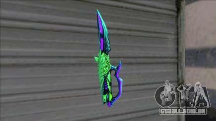 Deagle 3 Sinners Envy Knife para GTA San Andreas