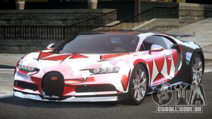 Bugatti Chiron ES L4 para GTA 4