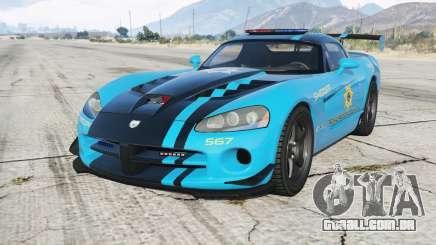 Dodge Viper SRT-10 ACR Hot Pursuit Police para GTA 5
