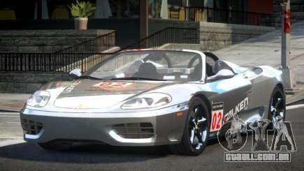 2005 Ferrari 360 GT L10 para GTA 4