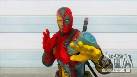 Evil Deadpool Marvel para GTA San Andreas