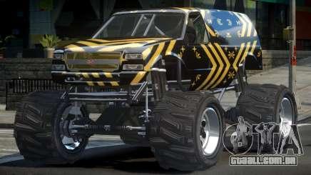 Vapid Liberator Custom L6 para GTA 4