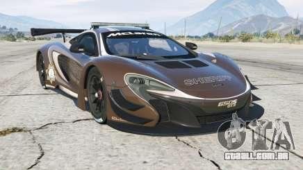 McLaren 650S GT3 Pursuit Edition para GTA 5