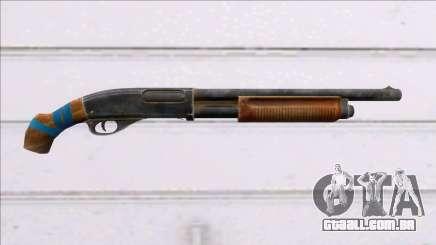 Fear the Wolves Remington-870 para GTA San Andreas