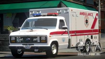 Ford E150 Ambulance para GTA 4
