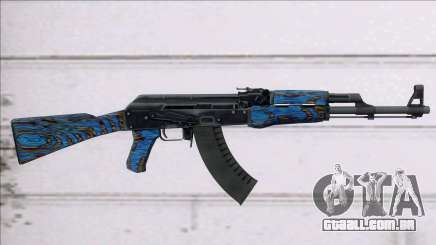 CSGO AK-47 Blue Laminate para GTA San Andreas